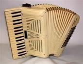 Antique FRONTALINI Accordion/Concertina 107/30